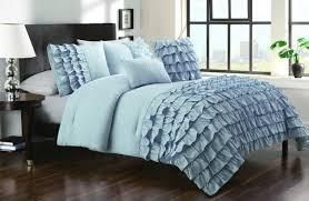 aqua ruffle comforter dark blue comforter sets luxury bedroom decoration with aqua