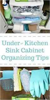 Under Cabinet Organizers Kitchen by Under The Kitchen Sink Cabinet Organization Tips Mom 4 Real