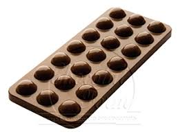chocolate mold bubbles tablet