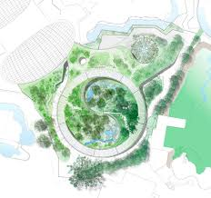 yin yang shaped panda enclosure for the copenhagen zoo by big