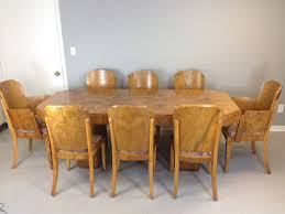 Art Deco Dining Room Set by Marcel Guillemard Art Deco Dining Table And Chairs U2014 Mid Century