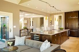 Open Floor Kitchen Designs Imposing Ideas Best Open Floor Plan Home Designs From More Options