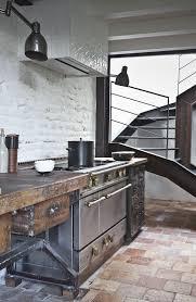cuisines style industriel cuisine rustique 23 idées inspirations photos
