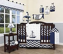 Nautical Baby Crib Bedding Sets Geenny Baby Nautical Explorer 13 Nursery Crib