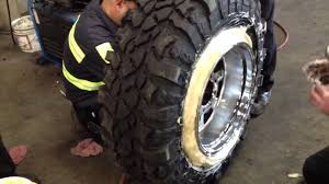Wide Rims For Chevy Trucks Mounting Wide Wheel On Narrow Tire Youtube