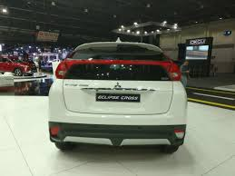 mitsubishi dubai 2018 mitsubishi eclipse cross at the dubai international motor