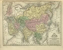 Map Of University Of Washington Map Of Asia Harvard University Asia Center