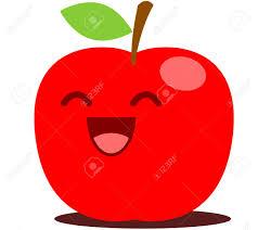 apple cartoon red apple cute cartoon royalty free cliparts vectors and stock