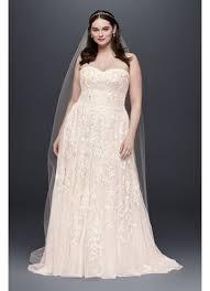 vintage plus size wedding dresses sweet lace a line plus size wedding dress david s bridal