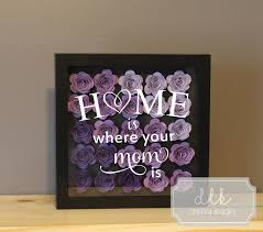 home is where your mom is gifts for mom birthday gift for her