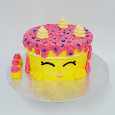 shopkins cake the on the swing