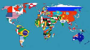 Logo Quiz World Flags World Map In Flags U2013 Think Twice