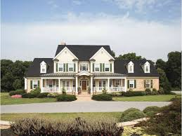 Colonial House With Farmers Porch Farmhouse Plans And Farm House Plans At Dream Home Source