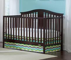 How To Convert Graco Crib To Full Size Bed by Graco Solano 4 In 1 Convertible Crib And Bonus Mattress Espresso