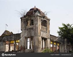 dutch colonial building in jakarta u2013 stock editorial photo