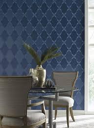 Roxy Room Decor Roxy Wallpaper In Blue Design By Candice Olson For York