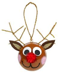 nicole crafts reindeer ornament ornaments craft christmas
