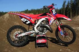 honda cr 125 motocross action magazine motocross action mid week report by