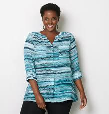 popover blouse abstract stripe popover blouse plus size blouse avenue