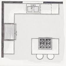 small kitchen floor plans with islands small kitchen plans