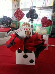 theme centerpiece casino party theme centerpiece birthday casino