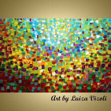abstract mozaic paintings for sale acrylic oil painting colorful