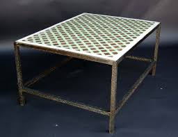 Moroccan Tile by Moroccan Tile Top Coffee Table At 1stdibs