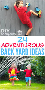 24 adventurous back yard ideas