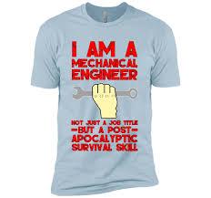 Mechanical Engineer Meme - funny mechanical engineer t shirt job title meme saying gift