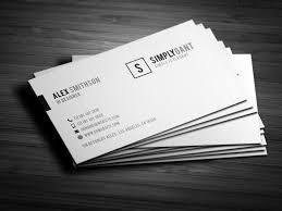 sleek elegant business cards business card templates creative