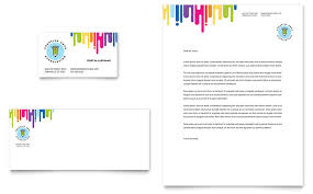 kids art camp business card u0026 letterhead template design