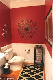 what is a powder room lovely red bathrooms homedecorpa com