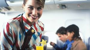 flight attendant announcement images reverse search