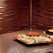 Fasade Backsplash Panels Reviews by Fasade Backsplash Waves In Oil Rubbed Bronze