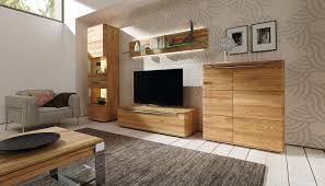 Wohnzimmerschrank Trends Moderne Wohnwand Massivholz Vedua Hülsta