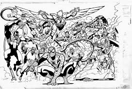 unseen spider man largest drawing ty templeton u0027s