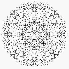 beautiful mandala coloring pages pdf 54 free coloring kids