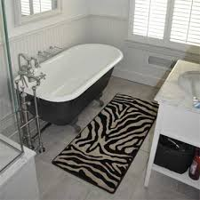 Zebra Bath Rug 6 Best Zebra Fashion And Decor Trends In 2012