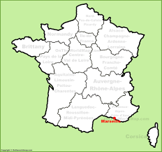 Alsace Lorraine Map Marseille Location On The France Map