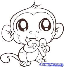 printable coloring pages monkeys free baby monkey coloring pages colouring for beatiful awesome cute