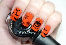 easy halloween konad stamping nail art diy halloween nails youtube