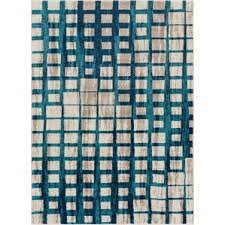Modern Blue Rug Plaid Area Rugs You U0027ll Love Wayfair