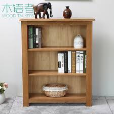 Small Bookcase White Wood Bookcase English Country Living Room White Oak Small Bookcase
