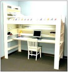 Kid Bed With Desk Bunk Bed With Desk Bunk Bed Office Bed Desk Desk Bed Loft Bunk