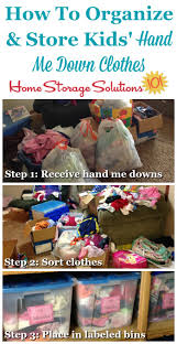 Clothes Storage Solutions by Hand Me Down Kids Clothes Storage Ideas U0026 Organizing Tips