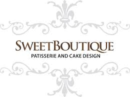 wedding cake logo sweet boutique bakery chocolate strawberries fayetteville n c