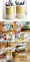 rangement accessoires cheveux 1001 idées pour fabriquer un pot à crayon adorable soi même