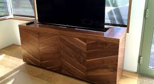 Tv Storage Cabinet Aspen Home Hideaway Tv Stand And Media Cabinet Villareal