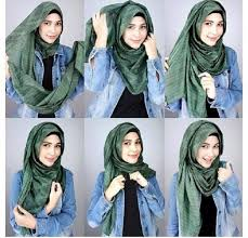 tutorial hijab turban untuk santai how to wear hijab step by step tutorial in 15 styles simple hijab