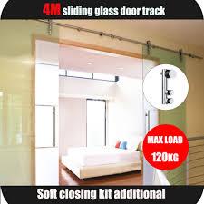 sliding glass door tracks 304 ss double exterior frameless glass sliding door track systems
